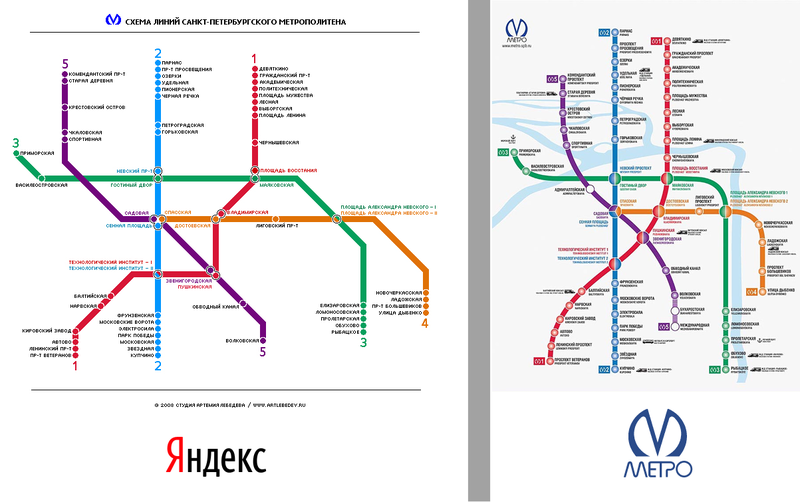 Яндекс метро санкт-петербурга схема