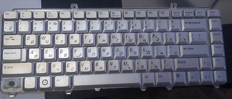Ремонт «залитой» клавиатуры ноутбука