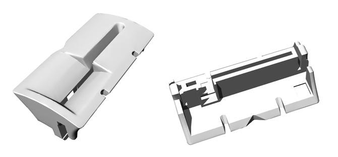 3D-модель детали скиммера