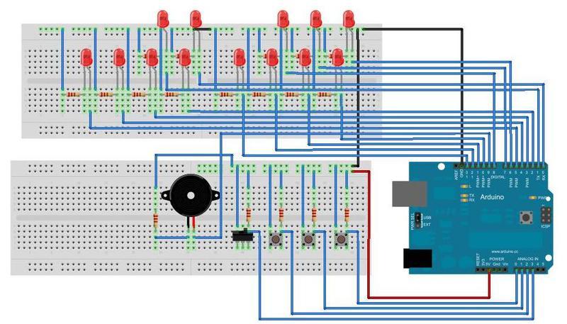 Binary clock with arduino ide library jobs adalryaprod s
