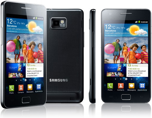 As I tested samsung galaxy s 2