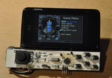 Самодельный игровой контроллер для Nokia N900