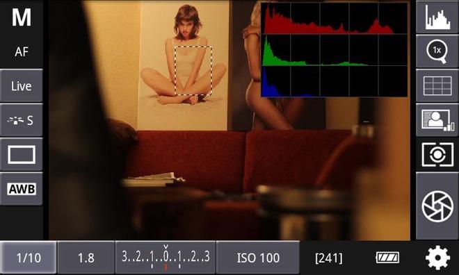 Android-приложение для дистанционного управления Canon DSLR