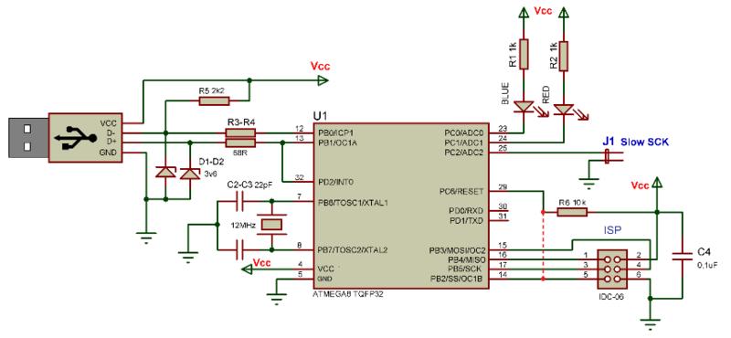 Делаем LPT программатор для AVR микроконтроллеров