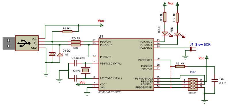 Схема программатор флеш