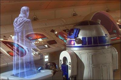 R2D2 hologram