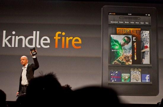 За пять дней на Kindle Fire поступило более 250 тысяч предварительных заказов