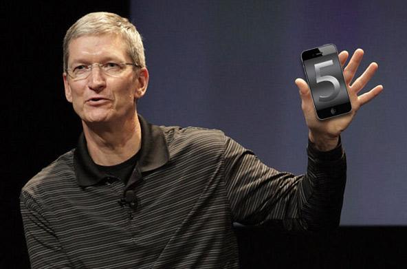 iPhone / iPhone 5. Тим Кук. 4 октября