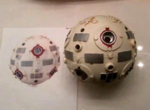 Star Wars training sphere