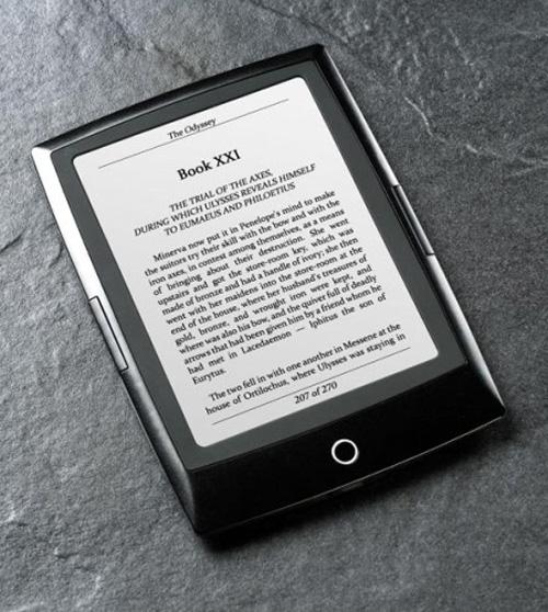 Компания Bookeen выпускает читалку с e-ink дисплеем нового типа