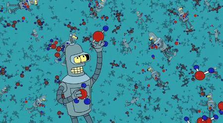 Futurama - nano Bender