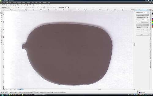 Посмотрите хорошую идею о том, как сделать невидимый монитор.  Точнее как получится на нем картинка...