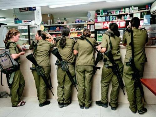 israel girls-solders