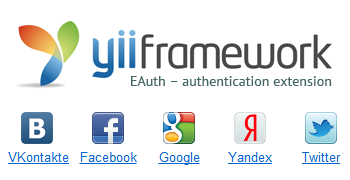 Yii EAuth extension