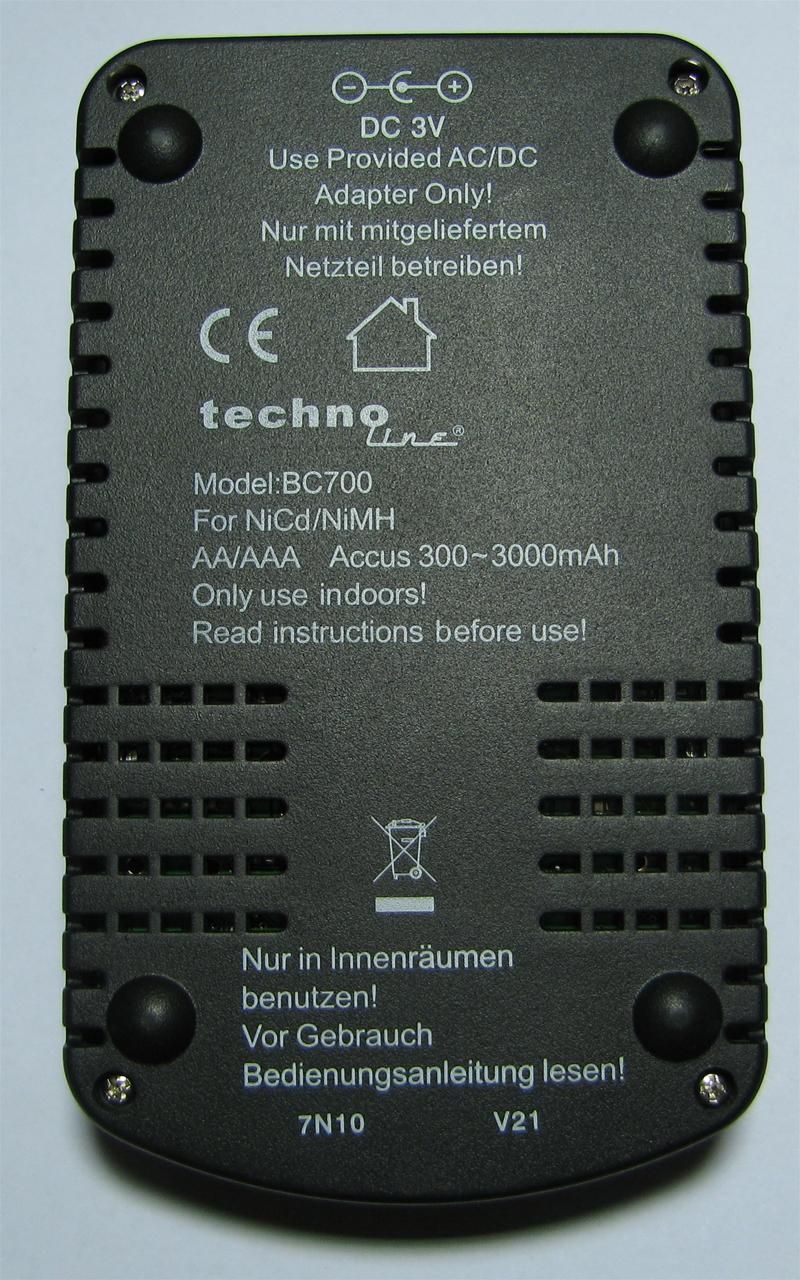 инструкция зарядное устройство la crosse bc-700