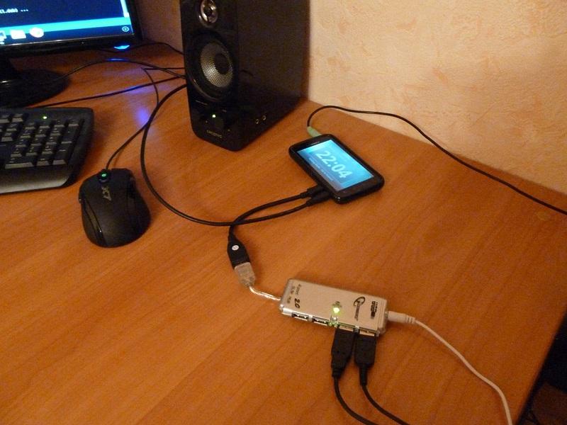 Используем телефон в качестве неттопа, или десктопный Linux на Motorola Atrix 4G