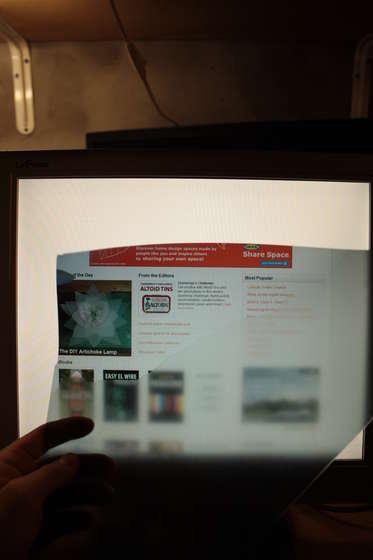 Приватный LCD монитор своими руками (ФОТО+ВИДЕО) .