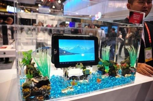 Toshiba представила водонепроницаемый планшет с беспроводной зарядкой