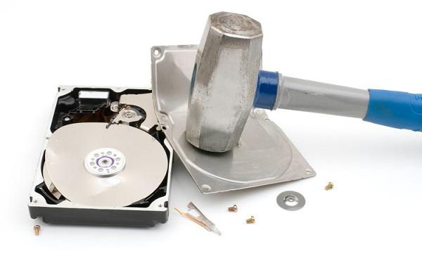 уничтожение данных на жестком диске