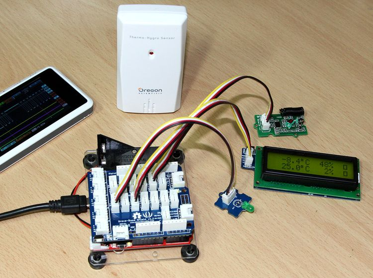 Arduino or weather station the hands — it daily