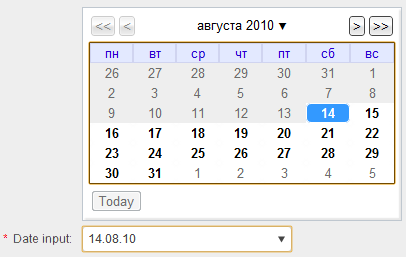Date parse