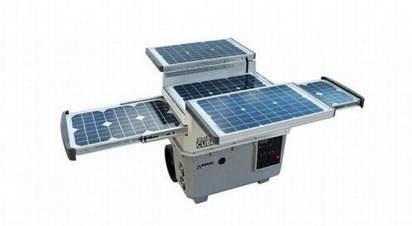 Wagan Tech - портативный солнечный энерго генератор