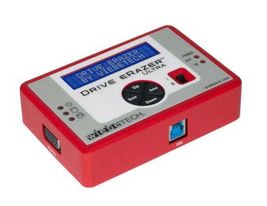 Drive eRazer Ultra надежно сотрет любую информацию с жесткого диска