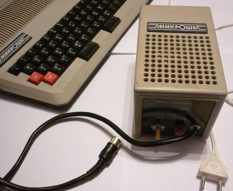 ПК «Микроша» — один из клонов «Радио-86РК»