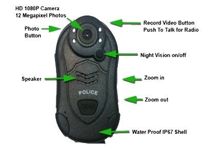 Индивидуальный видеорегистратор для полиции