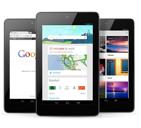 Google запустил продажу 32 Гб Nexus 7, 3G модель появится в ноябре