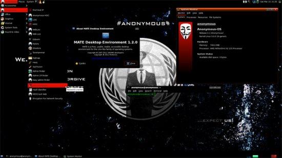 Anonymous представили инструментарий «начинающего взломщика»