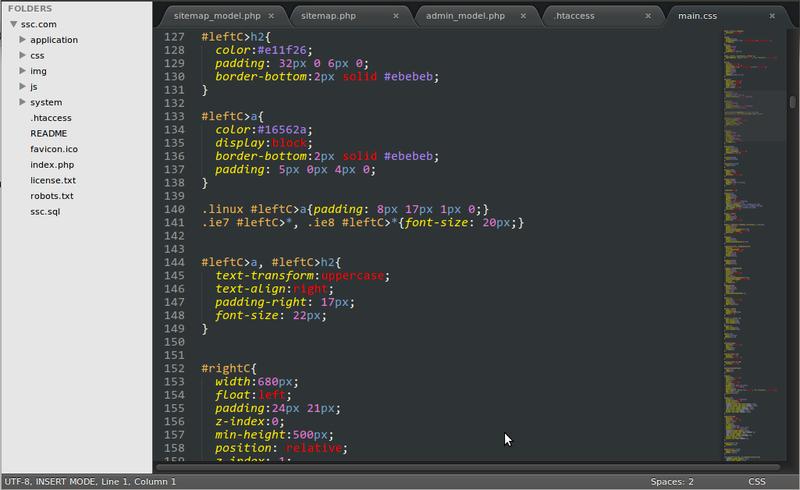 NP++ в подмётки sublime text2