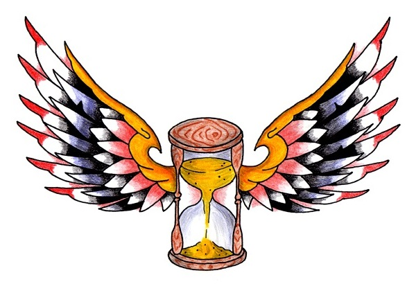 Winged Hourglass Image