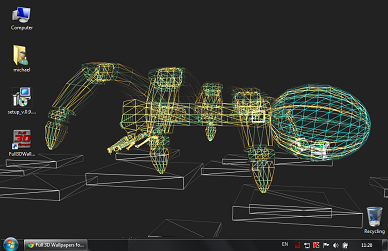 3D на рабочий стол Windows (+исходники)