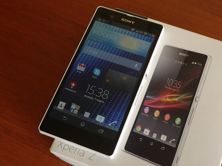 Обзор Sony Xperia Z