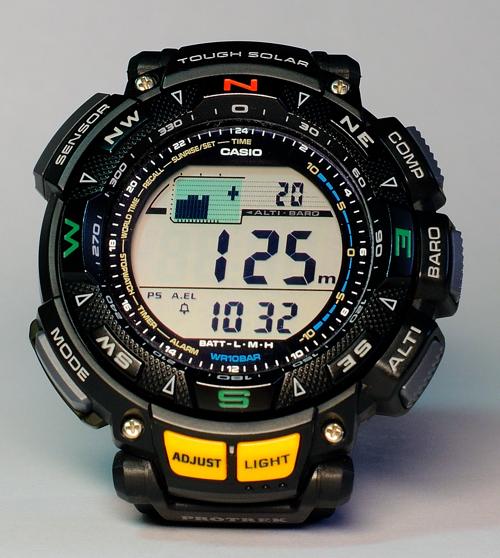 Часы Casio Protrek PRG-240-1ER   Хабр 959ab2f6416