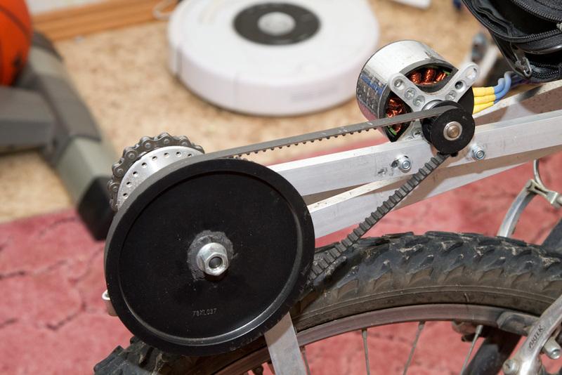 диаметр ротора двигателя.