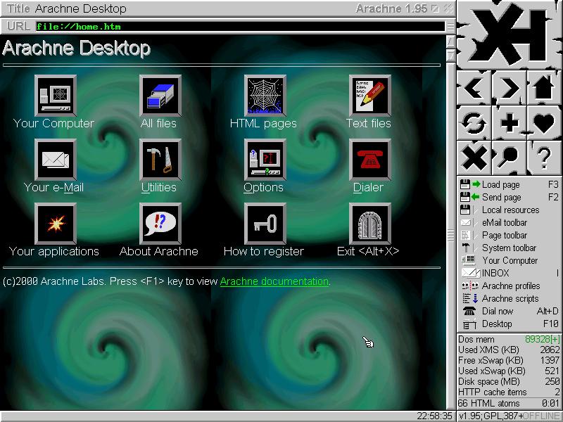 Обзор текстовых вeб браузеров  Хабр