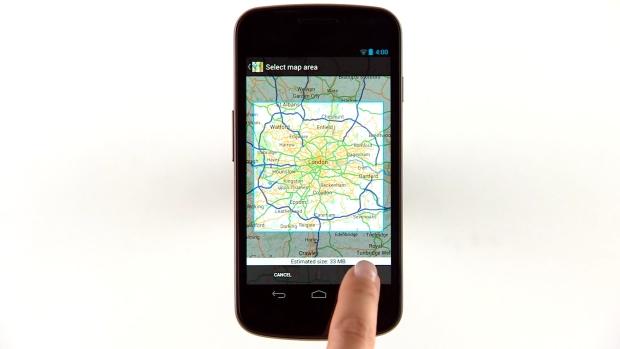 В Google Maps для Android появился оффлайн-режим