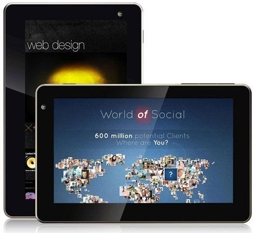Обзор 7 дюймового планшета ONDA Vi10 Elite с высоким разрешением экрана на  ...