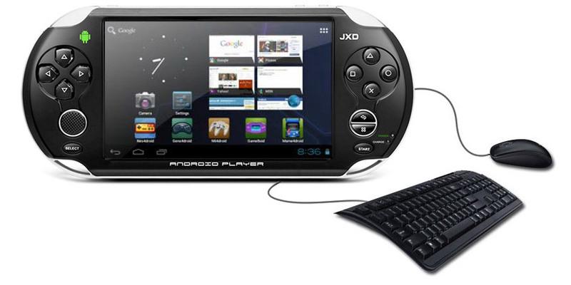 Обзор новой портативной игровой консоли на базе Android JXD S5110, сравнени ...