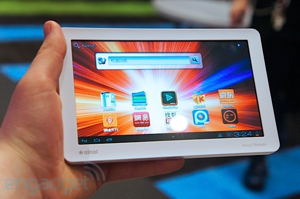 Ainovo Novo7 Paladin Ice Cream Sandwich Tablet