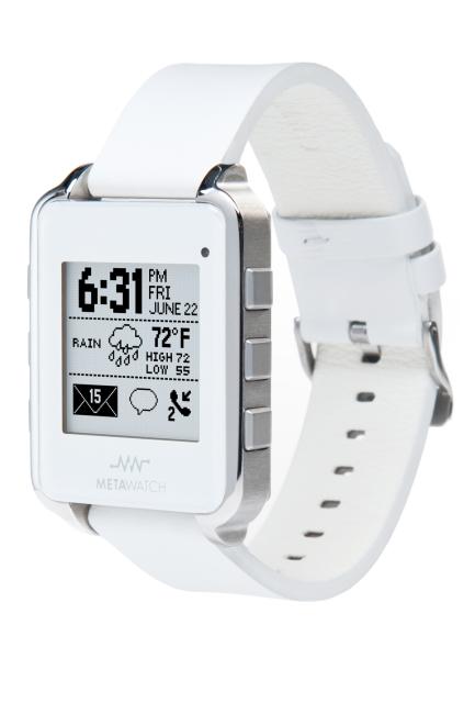 «Умные» часы MetaWatch для любителей гаджетов