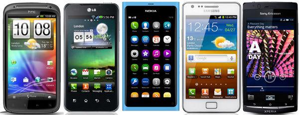 Лучшие смартфоны и планшеты 2013