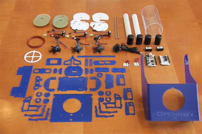 OpenROV - открытый проект подводного аппарата.