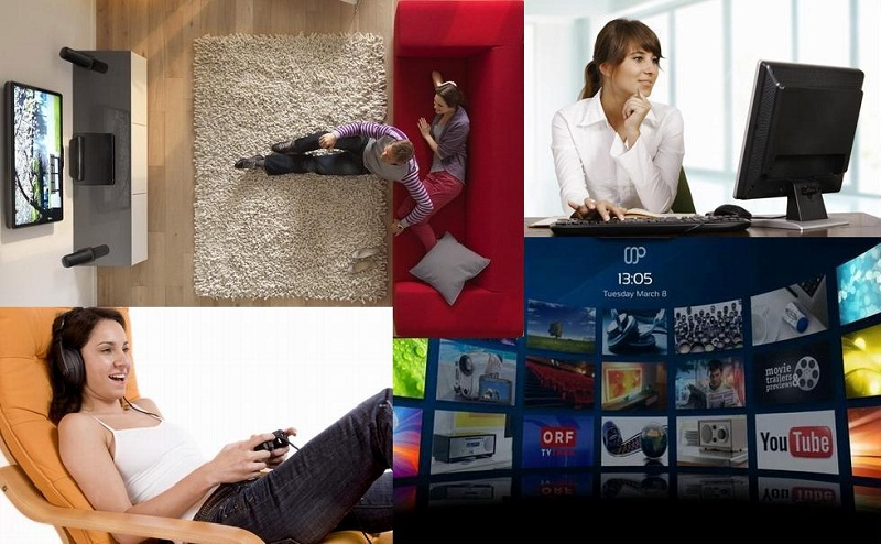 Как из домашнего компьютера сделать «два в одном» – домашний кинотеатр + персональный компьютер