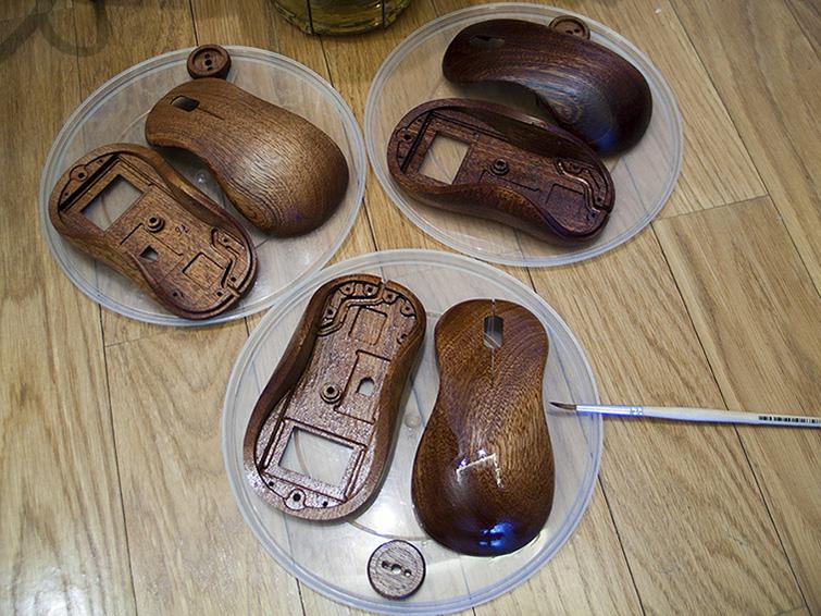 Мышь из дерева своими руками