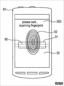 Sony патентует новый дактилоскопический датчик для дисплея смартфона