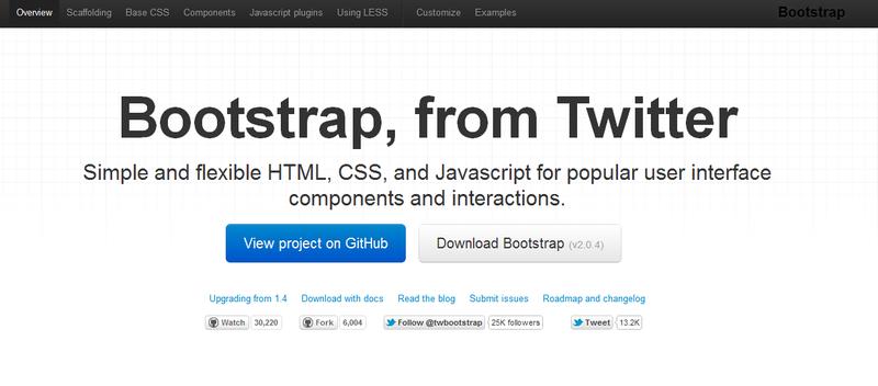 [recovery mode] Релиз новой версии Twitter Bootstrap 2.0.4