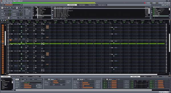 Скриншот Renoise
